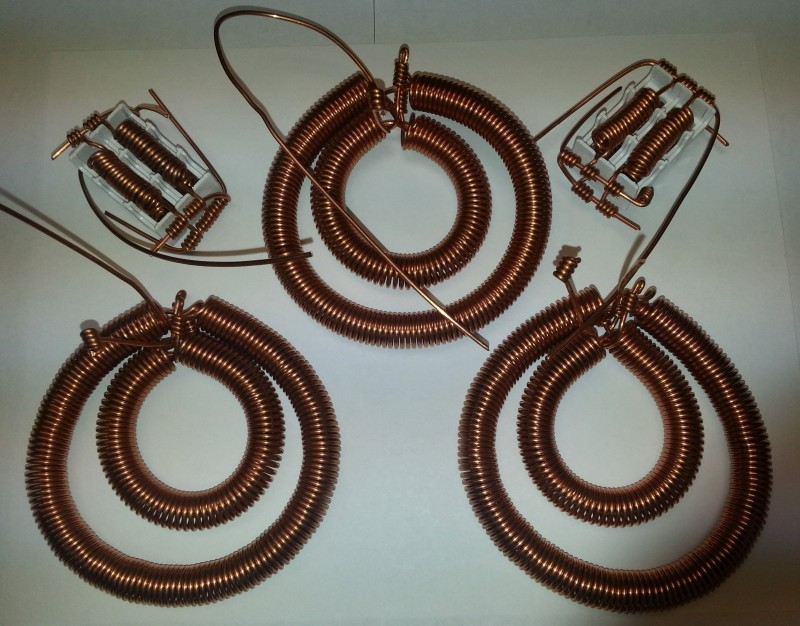 3 Coils Set + 2 Capacitor Sets